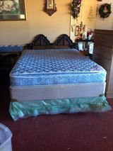 Queen Size Pillowtop  Complete Bed in Fort Polk, Louisiana