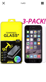 iPhone 7/7sPlus,6/6s Plus New screen protector TEMPERED GLASS - $3 in Naperville, Illinois