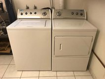 Washer and Dryer / Extra Large Top Loaders / Perfect Condition / Whirlpool in Ramstein, Germany