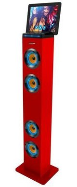 Premium Bluetooth Tall Tower Stereo Speaker With LED in 29 Palms, California