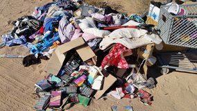 Free leftover yArdsale stuff in Yucca Valley, California