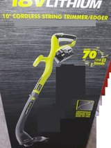 BRAND NEW !! - RYOBI 18 Volt - STRING TRIMMER EDGER in Vista, California