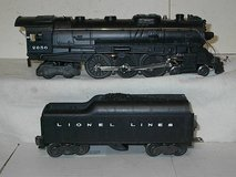 Lionel Post War Steam Engine #2056 4-6-4 W/2046W Whistling Tender 1952 in Quad Cities, Iowa