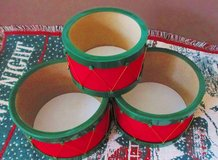 Christmas Drums for gift baskets Decor in Pleasant View, Tennessee