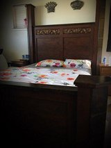 queen bed frame in Fort Irwin, California