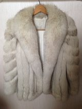 Real Silver Fox Fur Jacket in Plainfield, Illinois