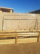 Soccer goal in Yucca Valley, California