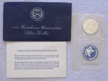 1971-S Ike 40% Uncirculated Silver Dollar in 29 Palms, California