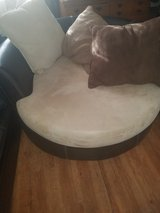 round sofa in Fort Bliss, Texas
