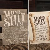 "Taking Orders: Custom Hand Painted ""Mom's Shit List"" in Fort Polk, Louisiana"