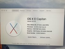 iMac 27inch late 2015 OBO in Fort Bliss, Texas