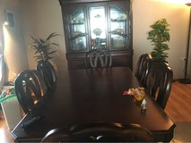 Dining set real woods in Fort Bliss, Texas