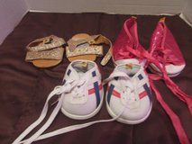 3 pairs build a bear doll shoes in Naperville, Illinois