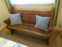 Antique Church Pew (Last Week, Movers coming the 18th!) in Okinawa, Japan