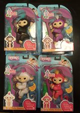 Authentic Fingerlings with stand - Interactive Baby Monkey - By WowWee -  New Unopened still in ... in Warner Robins, Georgia