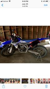 Yz250 2015 in Barstow, California