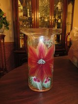 BEAUTIFUL!!  Handpainted Cylinder Candle / Scent Diffuser/ Vase   BRAND-NEW! in Westmont, Illinois