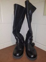 Black Calf Length Boots in Fort Campbell, Kentucky