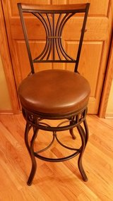 Bar stool with back in Elgin, Illinois