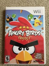 Angry Birds Trilogy Nintendo Wii in Orland Park, Illinois