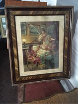 antique vintage frame Guardian Angel from France shabby chic in Ramstein, Germany