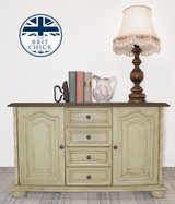 Rustic Green Dresser / Cabinet / Kommode / Sideboard in Ramstein, Germany