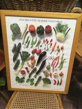 nice french kitchen frame with vegetables in Ramstein, Germany