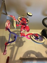 girls toddler bicycle with training wheels in Chicago, Illinois