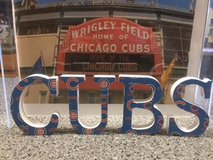 CUBS Letters in Naperville, Illinois