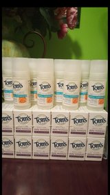 Tom's of Maine deodorant & Bar soap! in Tacoma, Washington