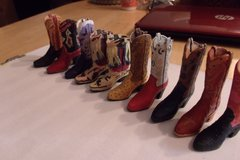 Minature Cowboy Boots in Alamogordo, New Mexico