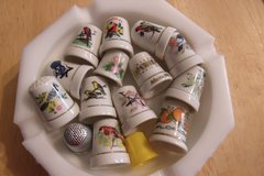 Porcelain Thimbles in Alamogordo, New Mexico