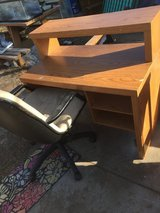 """Desk and chair 42x24"""" 38"""" tall in Fort Riley, Kansas"""