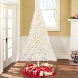 6' Artificial Pre-lit White Christmas Tree with White Lights in Camp Pendleton, California