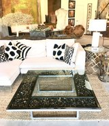 custom steel coffee and dining table(s) in Yucca Valley, California