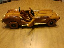 wooden car in Fort Leonard Wood, Missouri