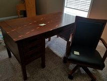 Ashley desk (60x30x30), chair in Fort Campbell, Kentucky