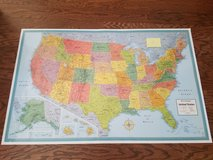 Rand McNally Map in Fort Campbell, Kentucky