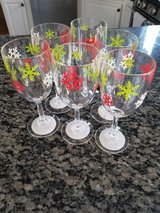 NEW Christmas wine glasses in Naperville, Illinois