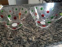 NEW Christmas serving bowls in Naperville, Illinois