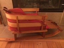 Vintage Wooden Infant/Toddler Sled in Bolingbrook, Illinois