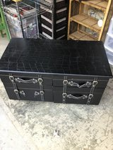 Black Leather Trunk in Fort Campbell, Kentucky