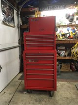 Red SnapOn tool chest -KRA 2055 in Tinley Park, Illinois