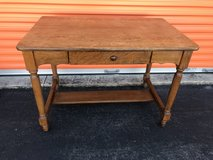 Qtr Oak Server, Desk, Table w/Drawer in Cherry Point, North Carolina