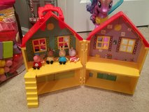 Peppa pig house and figures in Joliet, Illinois