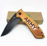 ARMY LASER ENGRAVED FOLDING KNIFE WITH CLIP in Fort Leonard Wood, Missouri
