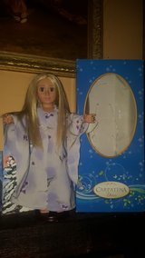 Carpathia doll 18in it is a slim. Also will not fit American Girl clothes in Naperville, Illinois