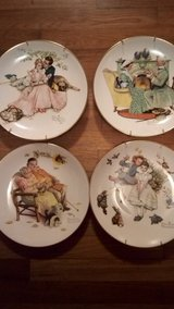Norman Rockwell plates in Byron, Georgia