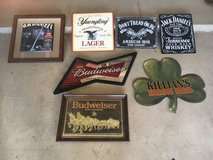 Beer signs in Camp Pendleton, California