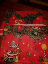 Christmas table cloth in Spring, Texas